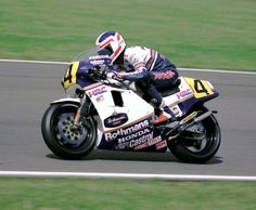 Freddie Spencer  Rothmans Honda/HRC  1985 British 500cc GP