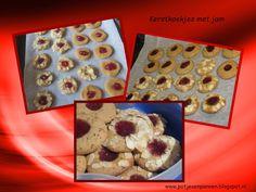 Anita's potjes en pannen: Kerstkoekjes met jam (spelt)
