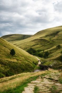 Jacobs Ladder, Edale, Peak District, The Start of the Pennine Way more or less. Tim M