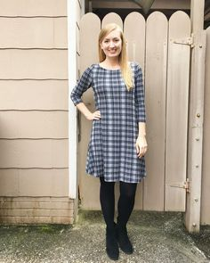 McCall's 7348 knit dress by @soisewedthis