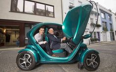 'No gimmick': Sir Stirling Moss has owned his Renault Twizy since 2013 and told Rob Hull i...