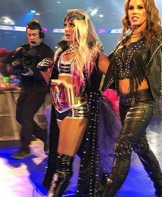 Alexa Bliss and Mickie James