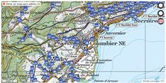 Milvignes NE Wanderwege Karte trail https://ift.tt/2z2kmmb #maps #mapOfSwitzerland