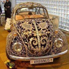 OMG!! Its like a modern day cinderella carriage!! love!