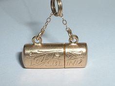 VINTAGE 14K YELLOW GOLD 3D LOVE IS BLIND EYEGLASSES PENDANT CHARM opens in Charms & Charm Bracelets | eBay