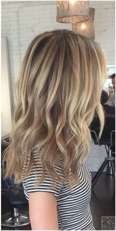 2. #Natural Blonde - 10 Got to Have #Hairstyles for Girls with Long Hair ... → Hair #Curls