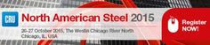 CRU 9th North American Steel Conference On October 26-27, 2015 at 9:00 am - 4:00 pm at The Westin Chicago River North, 320 North Dearborn Street, Chicago, 60654, United States. This conference will address the key issues central to your success. Noteworthy speakers will discuss demand, Category: Conferences, Prices: USD 1500 - USD 1850, Speakers: John Ferriola - Chief Executive Officer - Nucor, Aviva Leebow Wolmer - Chief Executive Officer - Pacesetter Steel Service