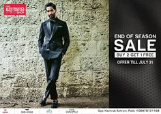 Your favorite attires at the unbelievable prices !  Drop by TODAY at The Raymond Seconds Shop - Paldi and avail our End of Season Sale offer :)  #Raymond #EOSS #EndofSeasonSale #Shirts #Trousers #Gentleman #SaleTime #SALE #Offer #India #SuitedMan