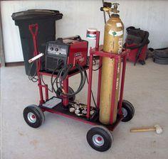 Heavy Duty Welder Cart   Lincoln Electric