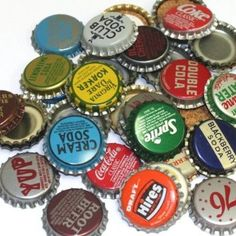 Amazon.com: 50 Vintage Random Bottle Caps Collectible Craft Jewelry Coke Soda Bottlecaps: Arts, Crafts & Sewing