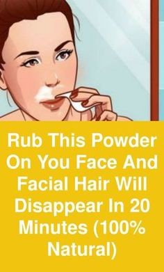 Rub this powder on you face and facial hair will disappear in 20 minutes natural) Facial hair is most common problem among women, specially on upper lip, chin and jaw line. Waxing and threading options are available but both of them are very painful Natural Facial Hair Removal, Chin Hair Removal, Upper Lip Hair Removal, Hair Removal Diy, Tan Removal, Facial Hair Remover, Female Facial Hair, Face Facial, Face Skin