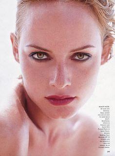 AMBER VALLETTA  US Vogue Editorial  June 1997  Photos: Herb Ritts