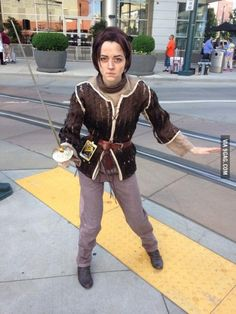 Awesome Arya Stark Cosplay