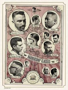 Hairstyle poster