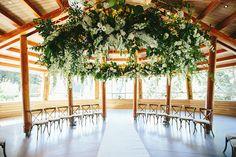 wedding ceremonies - photo by Melia Lucida https://ruffledblog.com/elegant-canadian-wedding-with-greenery