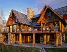 Katherine Hillbrand, SALA Architects: A large family cabin - Cabin Living