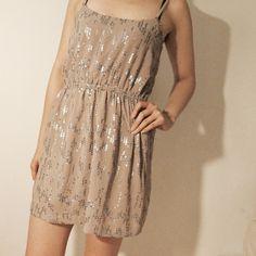 Sparkly dress Sparkly nude dress by nasty gal Nasty Gal Dresses