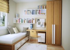 small bedroom for kids with study table and small lampshade kbhome poplar 46 pinterest - Beautiful Bedroom Ideas For Small Rooms