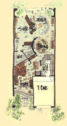Corazon House Plan - Custom House Plans with A Point of View ...