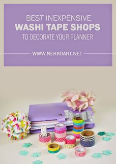 Best Inexpensive Washi Tape Shops
