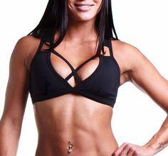 Posto9 SPORT BRA TOP  -  medium yopostsportbram Bra Tops, Yoga, Medium, Fitness, Sports, Fashion, Hs Sports, Moda, Fashion Styles