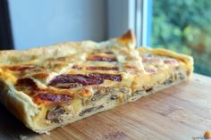 Lasagna, Breakfast, Ethnic Recipes, Quiches, Food, Portugal, Desert Recipes, Mushroom Quiche, Sweet Chili