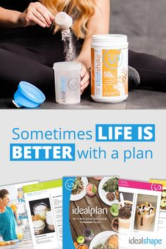 This plan incorporates IdealShape products into a simple, five-daily-meal blueprint that will help you reach your ideal body faster than you ever thought possible! Head over to idealshape.com and start living healthy today!