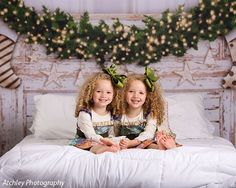 Christmas Headboard Backdrop - Photo Backdrops | Denny Mfg.