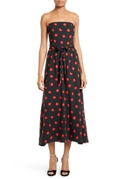 Alice + Olivia Belva Midi Dress available at #Nordstrom