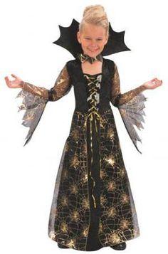 Disfraz niña Halloween. Vampiresa