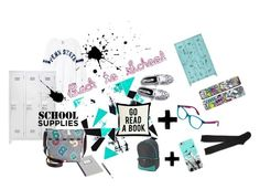 """""""Back To School!"""" by zaramartina ❤ liked on Polyvore featuring art and BackToSchool"""
