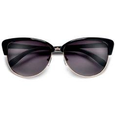 Retro Glamour Cosmopolitan Fashion Cat Eye Sunglasses – Sunglass Spot