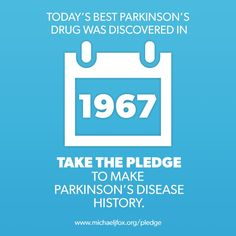 Today's best Parkinson's drug was discovered in 1967.