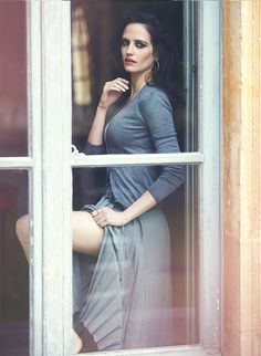 Eva Green, photographed by David Bellemere for The Edit, May 22, 2014.