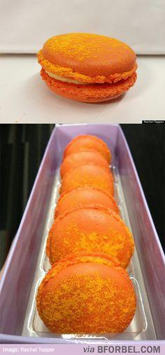 Cheetos Macarons! Yum!