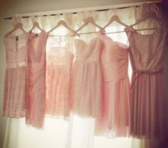 pink bridesmaid dresses  looking for something like this
