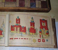 ANTIQUE 1890s RICHTER'S ANCHOR STONE BUILDING BLOCKS BOX 4 BOXED VG | eBay