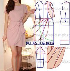 Anvolop elbise,kalıp model uygulama
