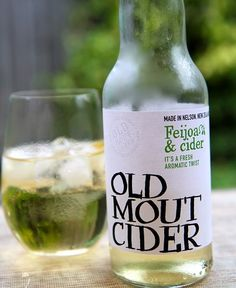 Old Mout ~ kiwi and lime is fab sticks!