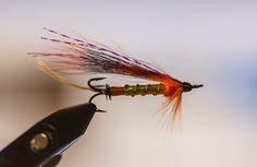 Perho Tenolle. Pyrstö kultafasaanin höihenestä. Rongossa oranssi ja vihreä silkki, kupari kierre. Oranssista ketun karvasta rinta dubattuna. Kaulushäkilä oranssia kukkoa sekä siipenä oranssia oravan häntää. Sarvet  crystal mirror flash punainen.