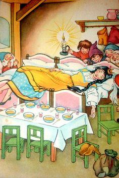 Сказочные Иллюстрации: Felicitas Kuhn-Klapschy - Белоснежка