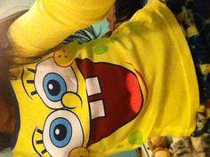A spongebob shirt :) i love it!!!!