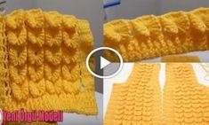 Kelebek Yelek Modeli Yapılışı Videolu Anlatım Crochet Bebe, Knitting, Watch, Youtube, Summer Knitting, Crochet For Baby, Templates, Vest Coat, Butterfly