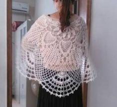 Beautiful crochet shawl Шаль. Обсуждение на LiveInternet - Российский Сервис Онлайн-Дневников