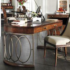 Stanley Furniture Avalon Heights Empire Writing Desk @Zinc_Door