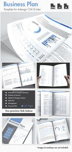 42 business plan template for indesign design print pinterest 42 pages business plan template friedricerecipe Images