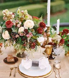 44 Elegant Burgundy And Gold Wedding Ideas | HappyWedd.com