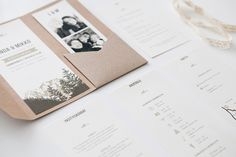 Rustiikkiset hääkutsut luontoteemalla makeadesign / Custom made rustic woodland wedding invitations by www.makeadesign.fi