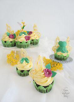 Cupcakes de Campanilla (Peter Pan)
