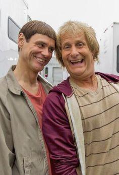 Jim Carrey and Jeff Daniels in Dumb & Dumber (1994)